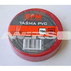 Taśma izolacyjna 15x10 czerwona  EPM