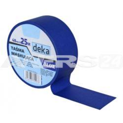 Taśma malarska, BLUE 48mm*25m  DEKA