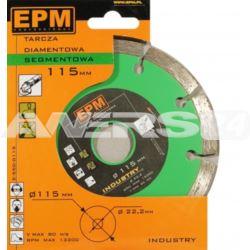 Tarcza diamentowa segmentowa 125mm EPM
