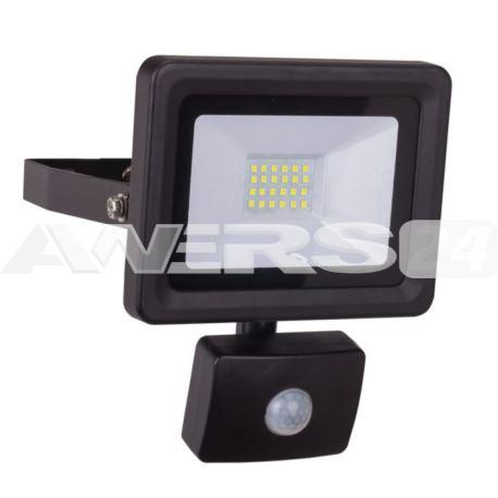 Lampa naściennaSLIM z czujn.ruchu 20W SMD LED IP44