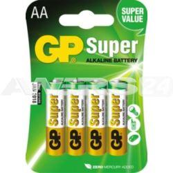 Bateria SUPER ALKALINE AA LR6 1.5V (op.6szt) 1szt