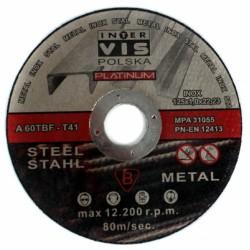 Tarcza do cięcia stali metalu 125x1,2  M-PLA T41