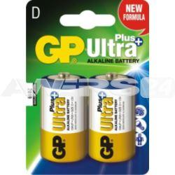 Bateria ULTRA+ ALKALINE LR20 1.5V 1szt