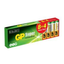 Bateria SUPER ALKALINE AA LR6 1.5V (op.12szt) 1szt