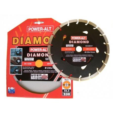 Tarcza diamentowa srebrna 230 POWER-ALT